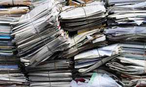 reciclare colectare hartie carton