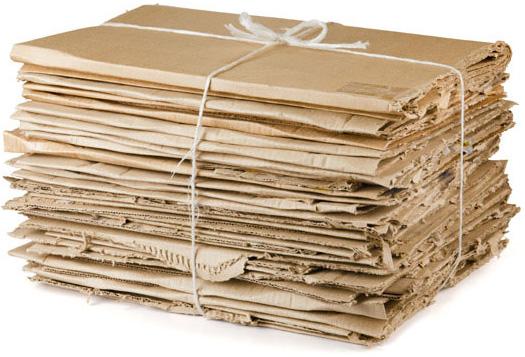 carton colectat spre reciclare