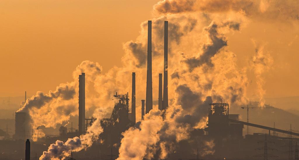 poluare industriala